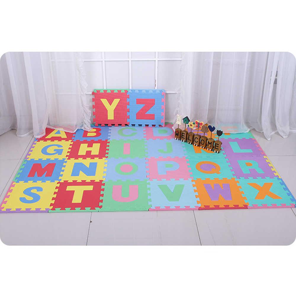 26 штук буквы детские игрушки головоломки коврики детские игрушки для детей коврик игрушки для Детский ковер развивающий коврик детские игровые коврики пенопласт