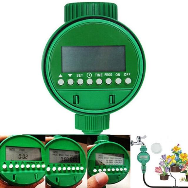 Good Impianto Di Innaffiamento Giardino Impianto Di Irrigazione Automatico  Sprinkler Timer Dispositivo Verde
