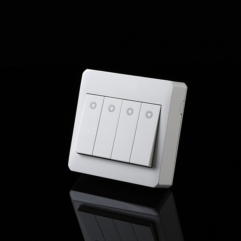 Free Shipping, Surface Mounted Type Wall Switch 4 Gang 2 Way Control,PC fireproof frame.Free Shipping, Surface Mounted Type Wall Switch 4 Gang 2 Way Control,PC fireproof frame.