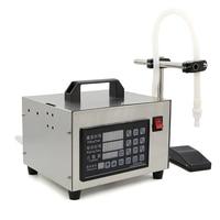 110V 220V Digital Control Liquid Quantitative Filling Machine Automatic Beverage Perfume Filling Machine With English Button
