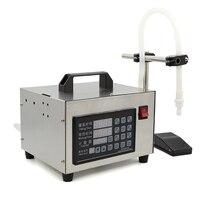 220V Digital Control Liquid Quantitative Filling Machine Automatic Beverage Perfume Filling Machine With English Button