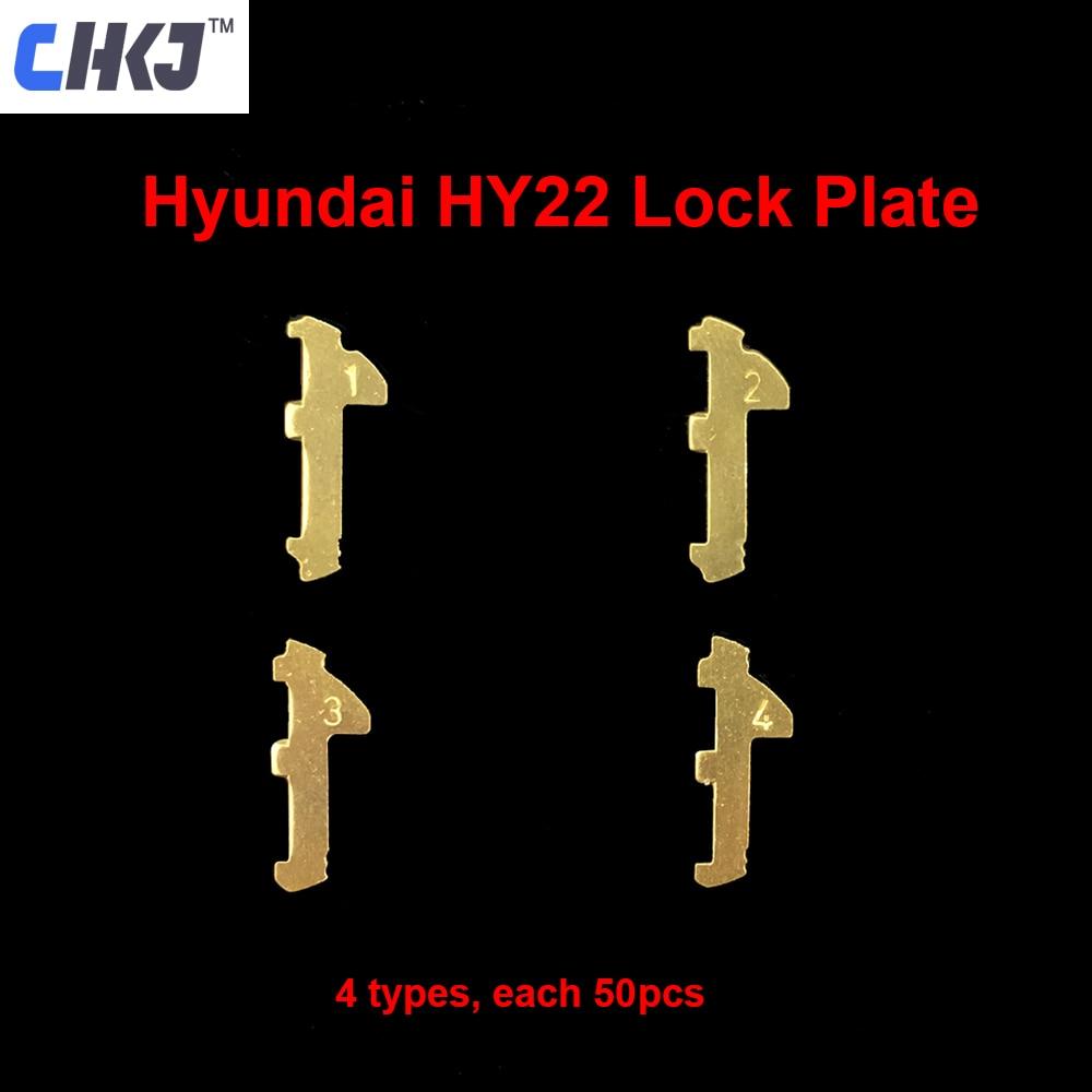 CHKJ 200pcs/lot HY22 Car Lock Reed Plate For HYUNDAI/IX30/35/S8/K5/Verna/New Sportage Brass Material Repair Kits 10pcs+ Spring