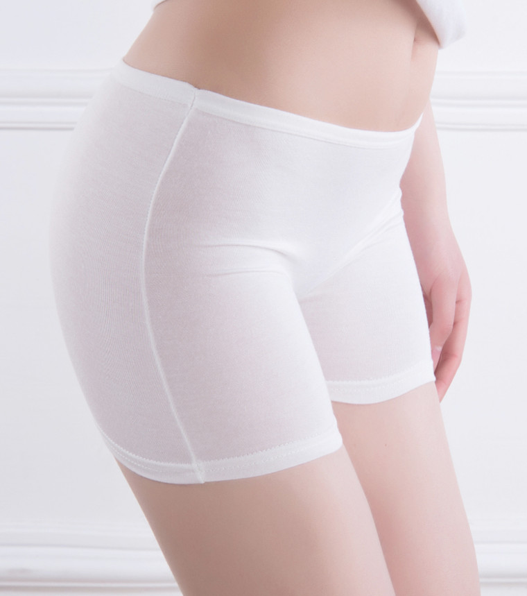 Frauen Nahtlose Sicherheits-Shorts Soft Ice Silk Enge Leggings Hosen Unterwäsche