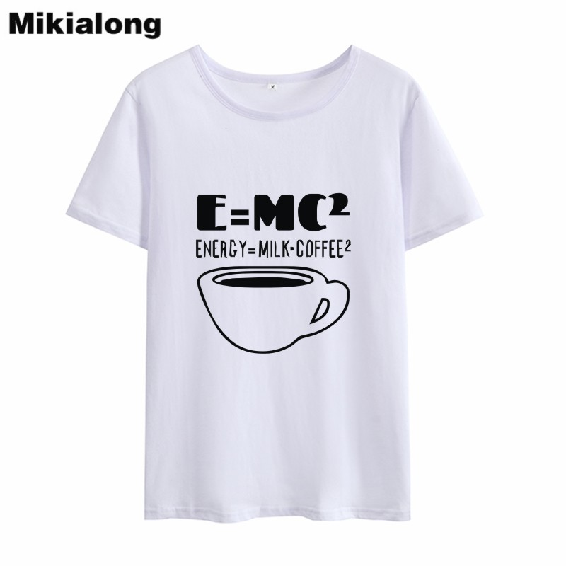OLN 2018 Funny COFFEE T Shirt Women Graphic Tee Shirt Femme Harajuku Kawaii Short Sleeve Women T-shirt Feminina Ropa Mujer