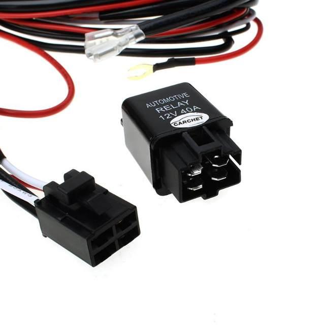 online shop carchet hid wiring harness led hid work driving light rh m aliexpress com