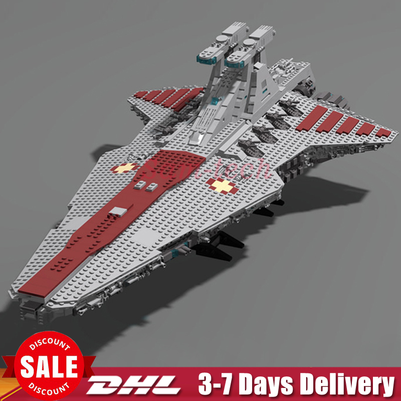 In Stock LEPIN 05077 Star 6125Pcs Series Wars The UCS Rupblic Star Destroyer Cruiser ST04 Set Building Blocks Bricks Toys lepin 05077 stars series war the ucs rupblic set star destroyer model cruiser st04 diy building kits blocks bricks children toys