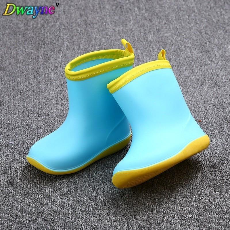 Dwayne kinderen slip plus fluwelen warme waterdichte regenlaarzen - Kinderschoenen - Foto 1