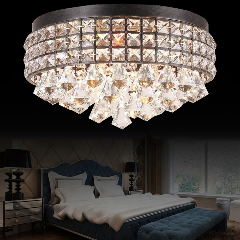 Retro vintage royal crystal k9 ceiling lighting fixture hanging retro vintage royal crystal k9 ceiling lighting fixture hanging drops decors lustre ceiling lamp bedroom e12 crystal art lamps in ceiling lights from lights mozeypictures Gallery