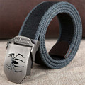 Tactical belt Men women Spider logo buckle Military canvas Width 3.8CM Thickness 4MM Length 110/140/160CM Designers high quality