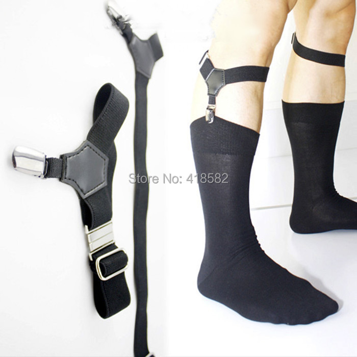 G001--New Hot Fashion Sexy Mens Sock Garters  Free Shipping Min.10 Pairs