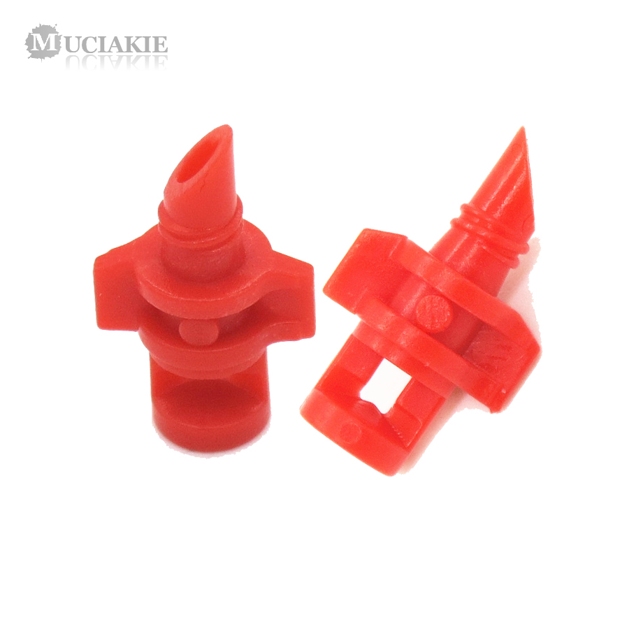 MUCIAKIE 20PCS pack 90 180 360 Degree Refraction Nozzle Garden Irrigation for Plant Spray Nozzle Mist MUCIAKIE 20PCS/pack 90 180 360 Degree Refraction Nozzle Garden Irrigation for Plant Spray Nozzle Mist Sprayer Irrigation Fitting