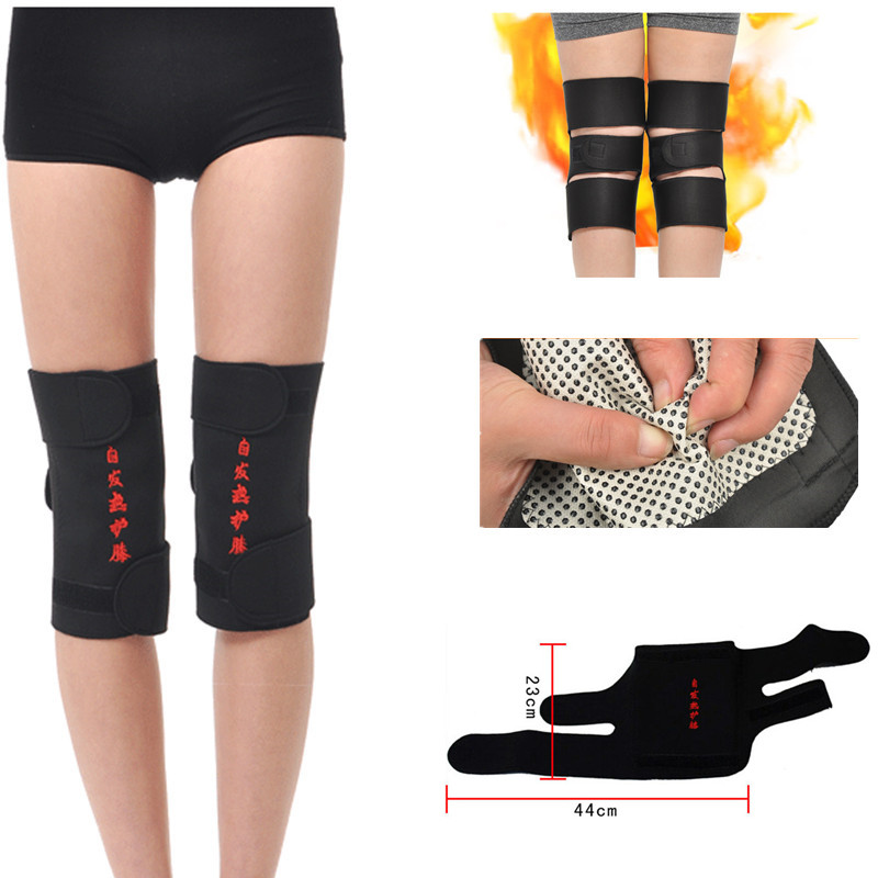 New Arrival Tourmaline Self-heating Pads Leg Care Magnetic Therapy Knee Pads Adjustable Knee Health Massager Punctual Timing Beauty & Health
