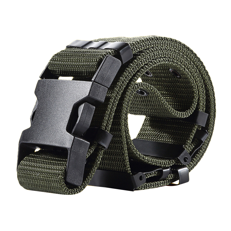2017 Adjustable Soldiers Tactical Belts Men Military Tactical Equipment US Army Waist Belt Nylon Paintball Combat Waistband