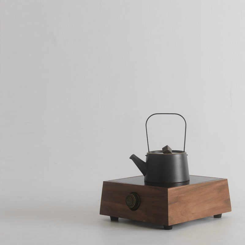ホットプレート小さな煮茶ストーブクルミは選択しないケトルお茶が。