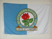 Blackburn Rovers Football Club Custom Sports Flag Size 96 144cm No 4 Football Team Banner Without