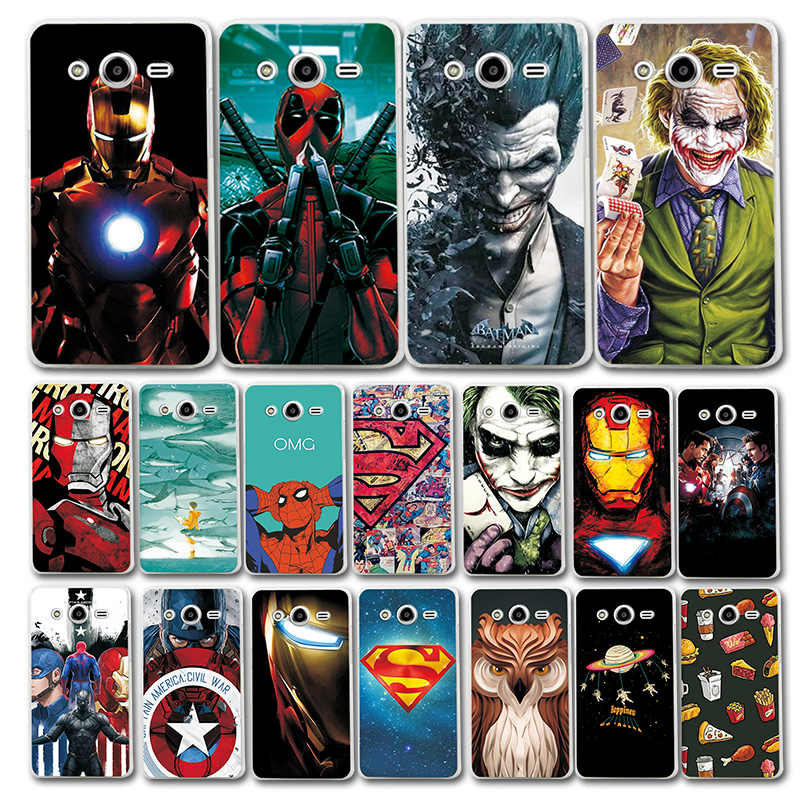 Newest Art Printed Case For Samsung Galaxy Core 2 G355H Super Cool Novelty Phone Bag For Samsung Core2 SM-G355H Back Cover Coque