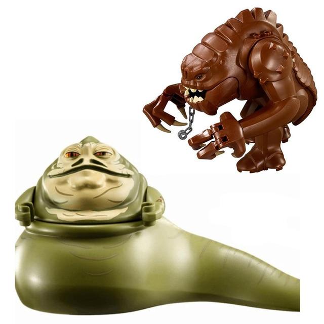 Jabba The Hutt Rancor Star Wars Figure Building Bricks Blocks Toy