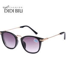 47335954f02 DIDI Women s Reading Finished Myopia Sunglasses Men Gold Prescription Nearsighted  Glasses With Diopters Degree -1.0 To -4.0 W488