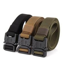 купить Lixada Metal Buckle Tactical Gear Heavy Duty Belt Quick Release Nylon Waist Belt  for Outdoor Camping Climbing Training Hunting дешево