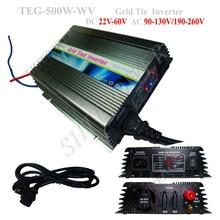 DC 22-60V zu AC 110V 120V 220V 230V 240V 500W Solar panels Mikro-wechselrichter