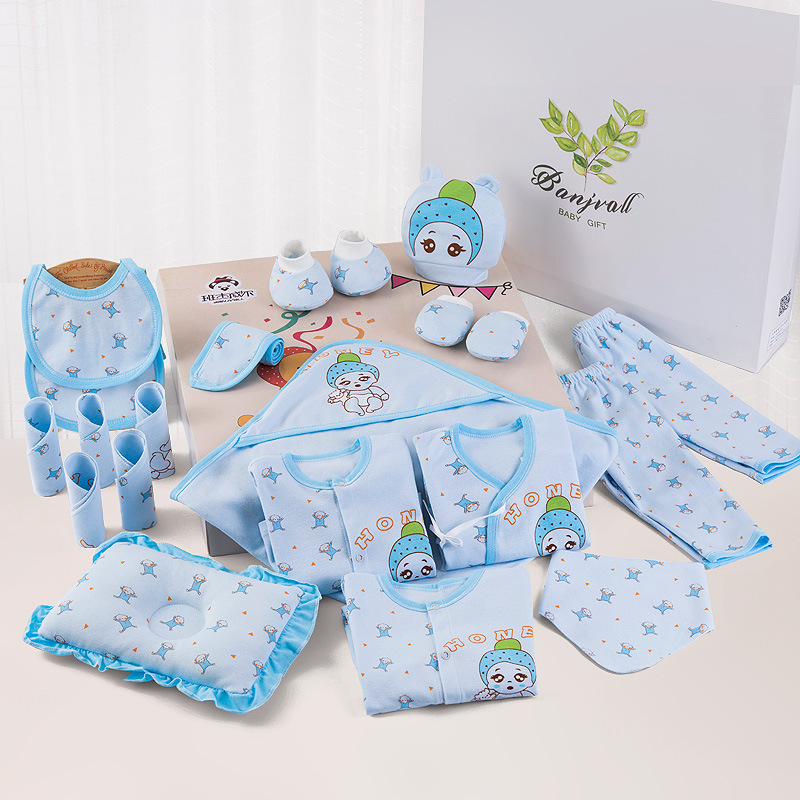 21 Pcs/Set Cotton Newborn Baby Clothing Set For Girls Boys Toddler Baby-clothes New Born Gift Set