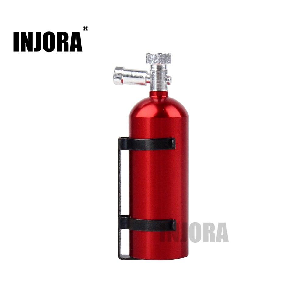 RC Car Metal Fire Extinguisher For 1/10 RC Rock Crawler Axial Wraith SCX10 90046 RR10 D90 Traxxas TRX-4 TAMIYA CC01 KM2