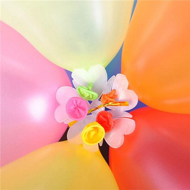 unids cm globos forma de la flor clip de papel bolas de flores de
