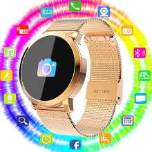 QUNIWO Q8 Smart Watch OLED Color Screen Smart Electronics Smartwatch Fashion Fitness Tracker Heart Rate Bluetooth Men Man Women