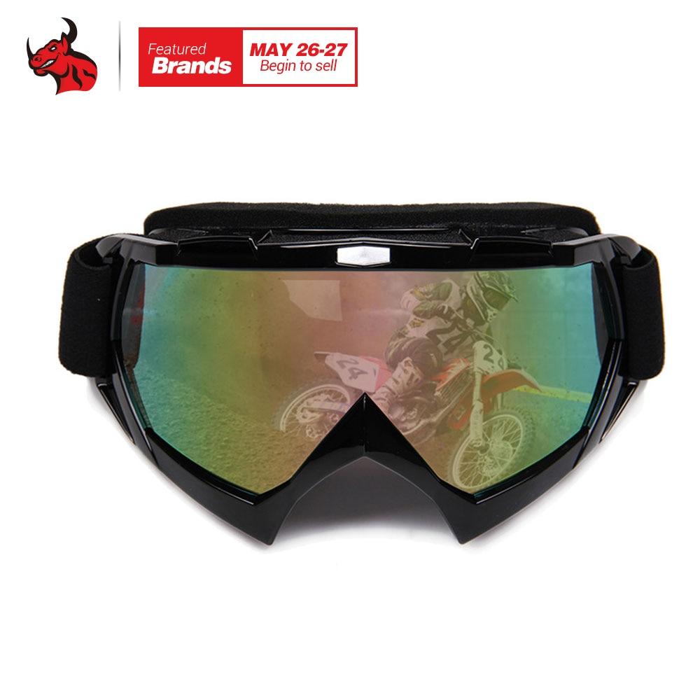 HEROBIKER Motorcycle Riding Eyewear Motocross Off-Road Eyewear Color Lens Windproof Ski Snowboard Snowmobile Motorcycle Goggles