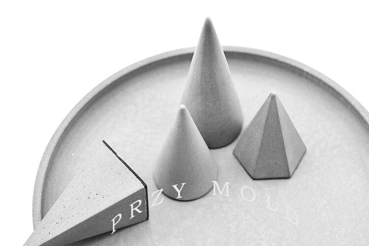 Silikagel silikonform beton zement ring armband schmuckständer - Küche, Essen und Bar - Foto 4
