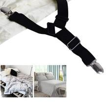 Berguna 4X Segitiga Bed Mattress Sheet Straps Clips Grippers Fasteners Suspender