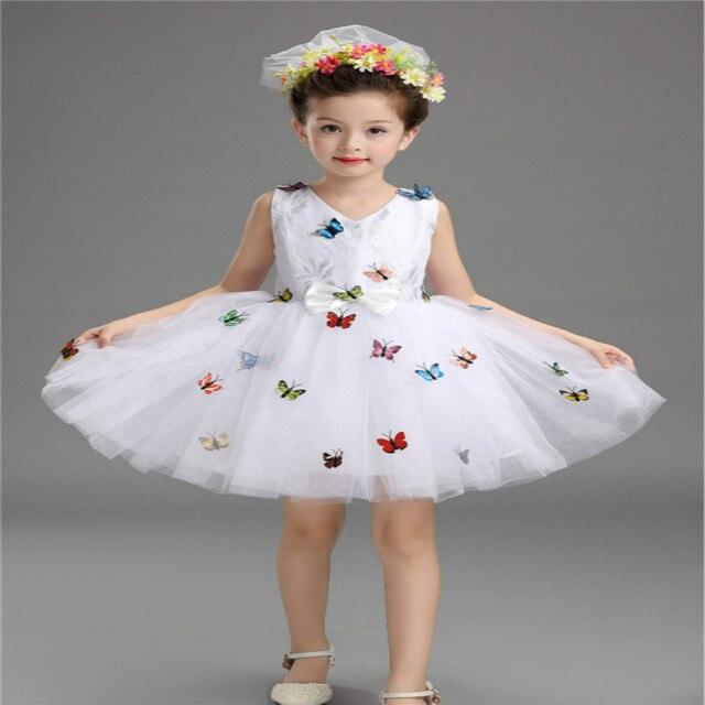 Mädchen Cinderella Kostüm Prinzessin Party Kleider Kinder ...