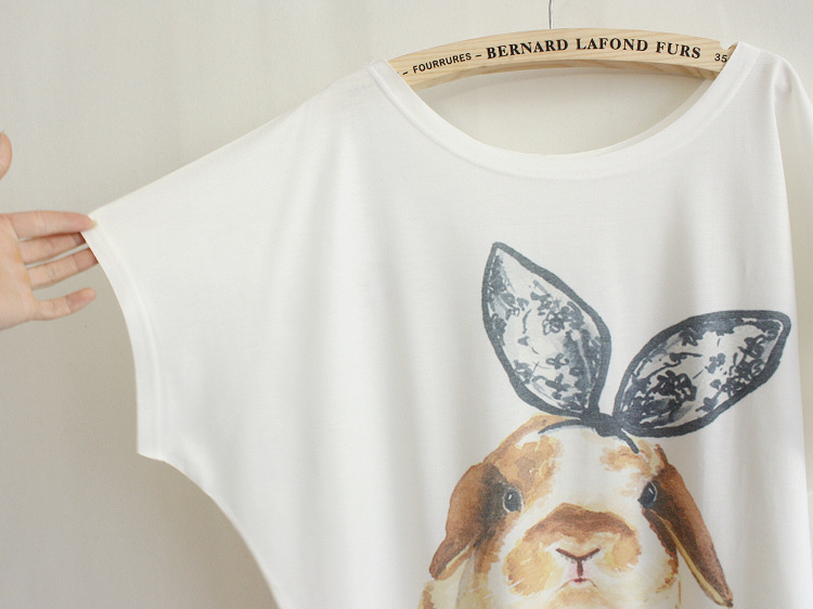 Tees Rabbit T-shirt Last