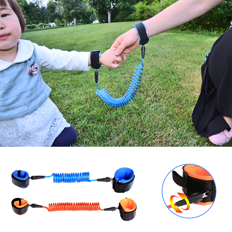 Kids Safety Toddler Lost Strap Baby Kids Safety Walking Harness Cut Continuously Child Anti Lost Wrist Belt Traction Rope new professional safety rock tree climbing rappelling harness seat sitting bust belt safety harness