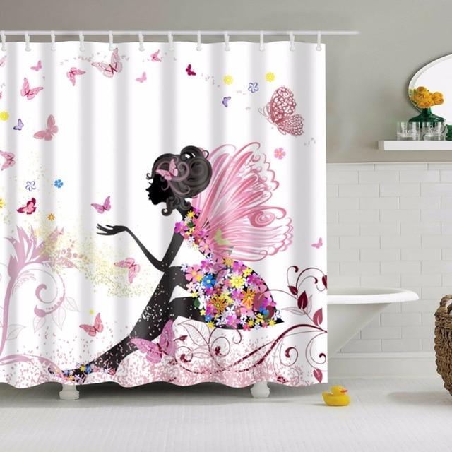 Bathing Shower Curtain New Image Bathroom Curtains Classic ...