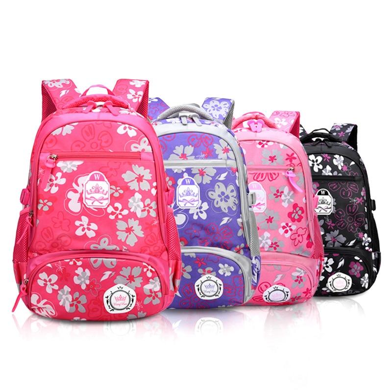 34d42f239295 Детские школьные сумки для девочек, рюкзак для начальной школы,  ортопедический Школьный рюкзак, детский Ранец, сумка для книг Mochila  Infantil, сумк.