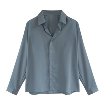 d8367d97f8f9 De moda de verano de gasa blusas de mujeres