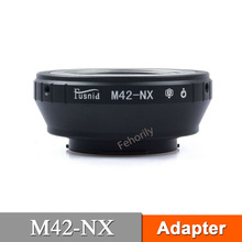 M42-NX Adapter Ring for M42 Mount Lens to NX Mount NX5 NX30 NX100 NX200 m42 fx m42 lens to fujifilm x pro1 mount adapter black