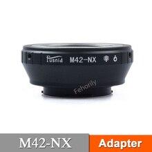 M42-NX Adapter Ring for M42 Mount Lens to NX Mount NX5 NX30 NX100 NX200 цена и фото