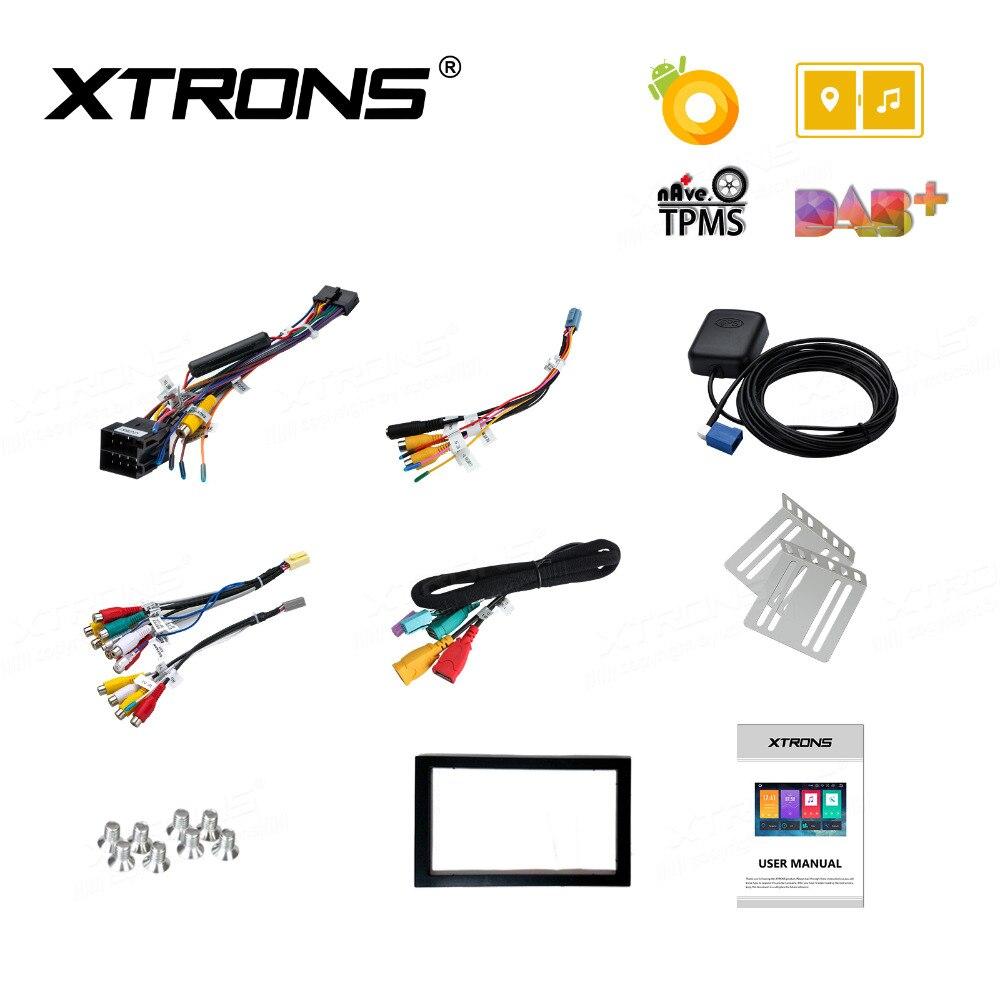 XTRONS 2 Din Universal Radio Audio 10.1