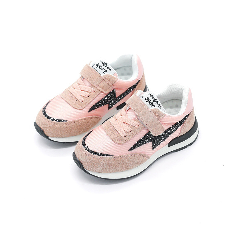 2017 Running casual children shoes fashion girls shoes sneakers breathable comfortable sports kids shoes for boys students Brand