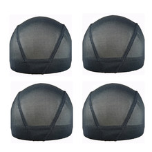 Mesh Dome Wig Cap Breathable/Short-Look Large Dome Style For ManKing Wigs Black S/M/L 5pcs/lot(China)