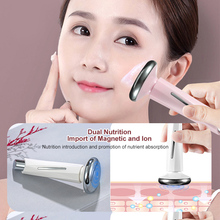 Mini Magnetic Therapy Machine Face Massager Anti-aging Eye Bag Wrinkle Remover Ion Therapy Skin Rejuvenation Essence Beauty Tool mini facial clean whitening eye pouch dark circles therapy ultrasonic galvanic ion face eye skin rejuvenation spa beauty device