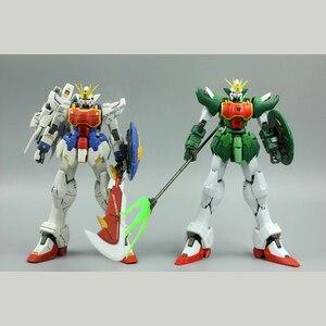 Image 4 - Super Nova XXXG 01S2 Verde Doppio testa di Drago Altron Gundam Model Kit MG 1/100 Action Figure Giocattolo di Montaggio Regalo di Acqua sticker
