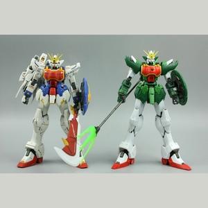Image 4 - Super Nova figuras de acción de XXXG 01S2, Kit de modelos de Dragon Altron de doble cabeza, Gundam MG 1/100, juguete para regalo, pegatina de agua