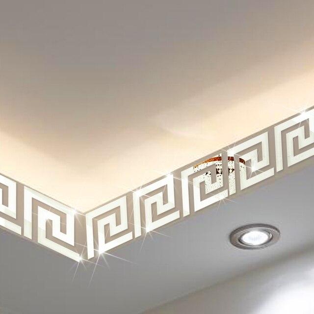 funlife x cm x unids geomtrico moderno como un espejo reflectante muro fronterizo
