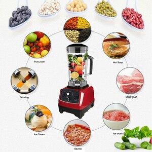 Image 5 - BPA Libero del Grado Commerciale Timer Blender Mixer Heavy Duty Automatico di Frutta Spremiagrumi Robot da Cucina Frantoio di Ghiaccio Frullati 2200W