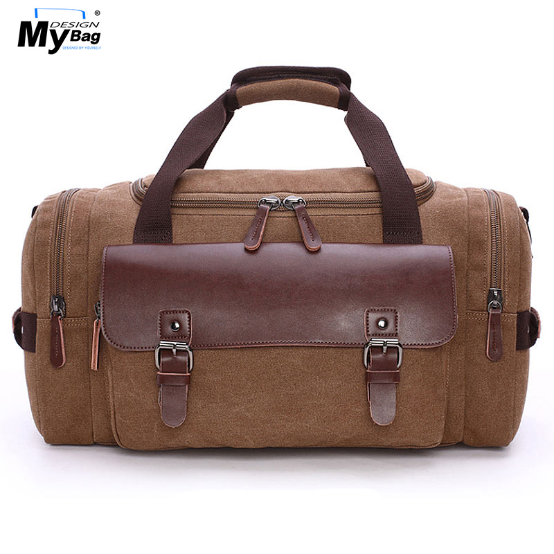 DESIGN MYBAG Mode Extra Stor Weekend Duffel Bag Meddelande Väska - Väskor för bagage och resor - Foto 1