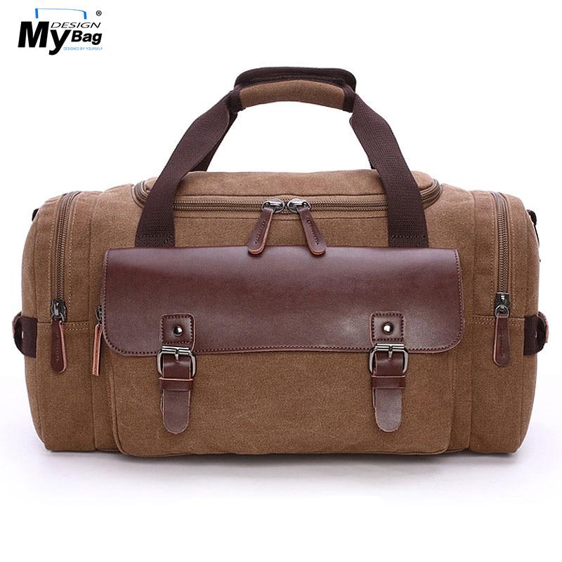 DISEÑO MYBAG Fashion Extra Large Weekend Duffel Bag Messager Bag - Bolsas para equipaje y viajes