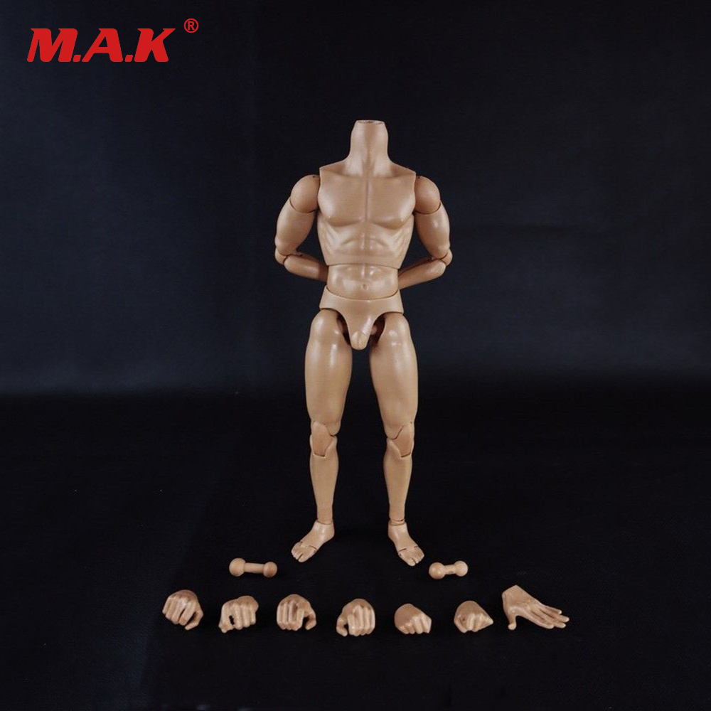 1:6 Scale Nude Male Body Figure Muscle Man Soldier Model Toys for 12 Action Figure Doll Accessories 1 6 scale figure doll troy greece general achilles brad pitt 12 action figures doll collectible figure plastic model toys